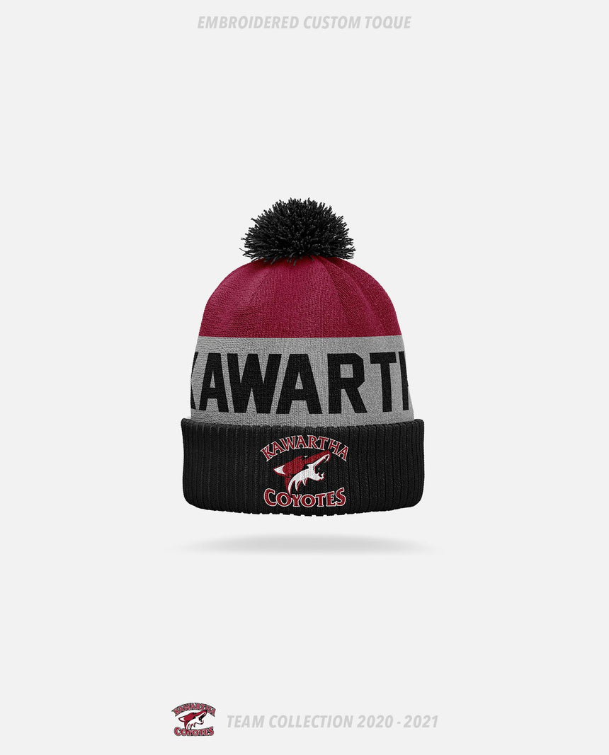 Kawartha Coyotes Embroidered Custom Toque - GSW Team Collection 2020-2021