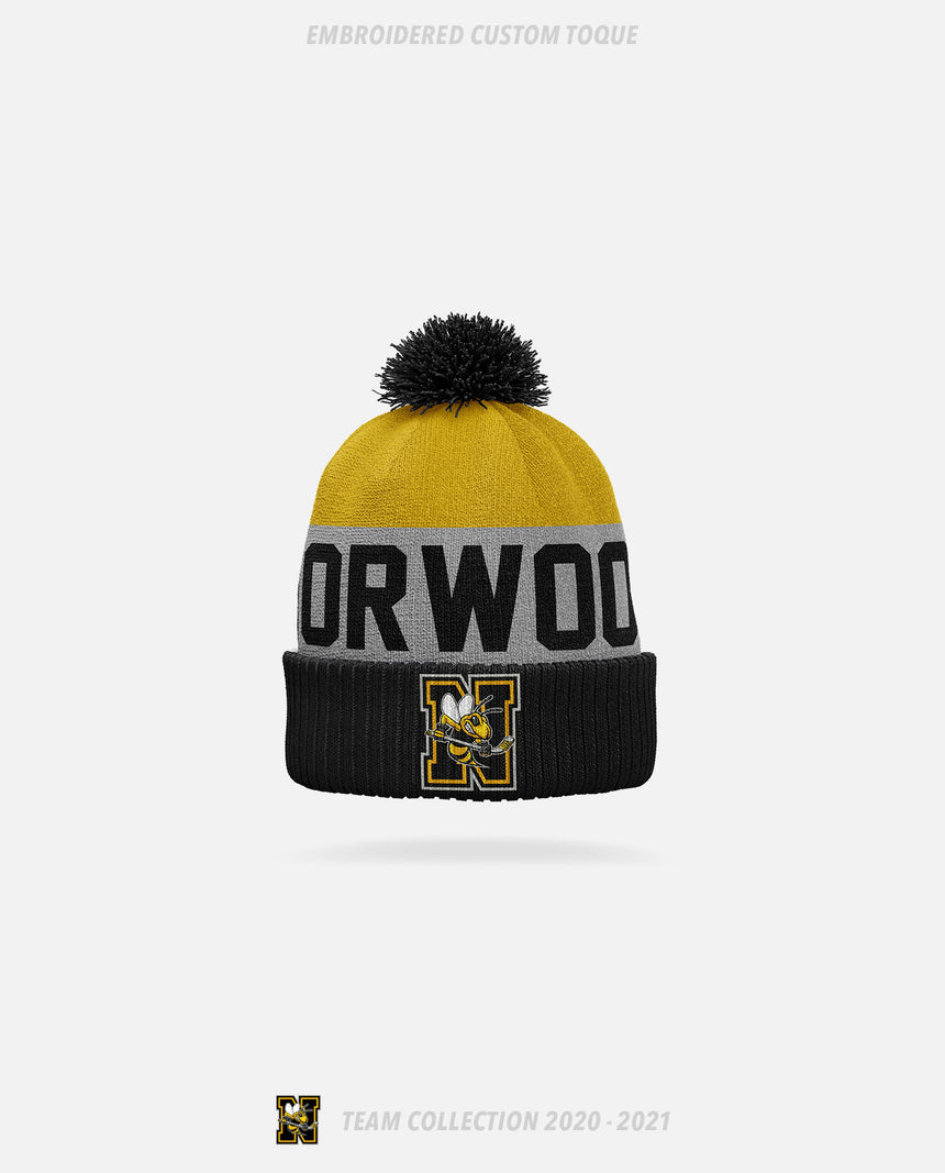 Norwood Hornets Embroidered Custom Toque - GSW Team Collection 2020-2021