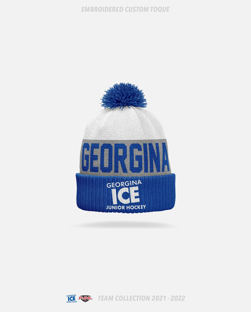 Georgina Ice Embroidered Custom Toque - GSW Team Collection 2020-2021