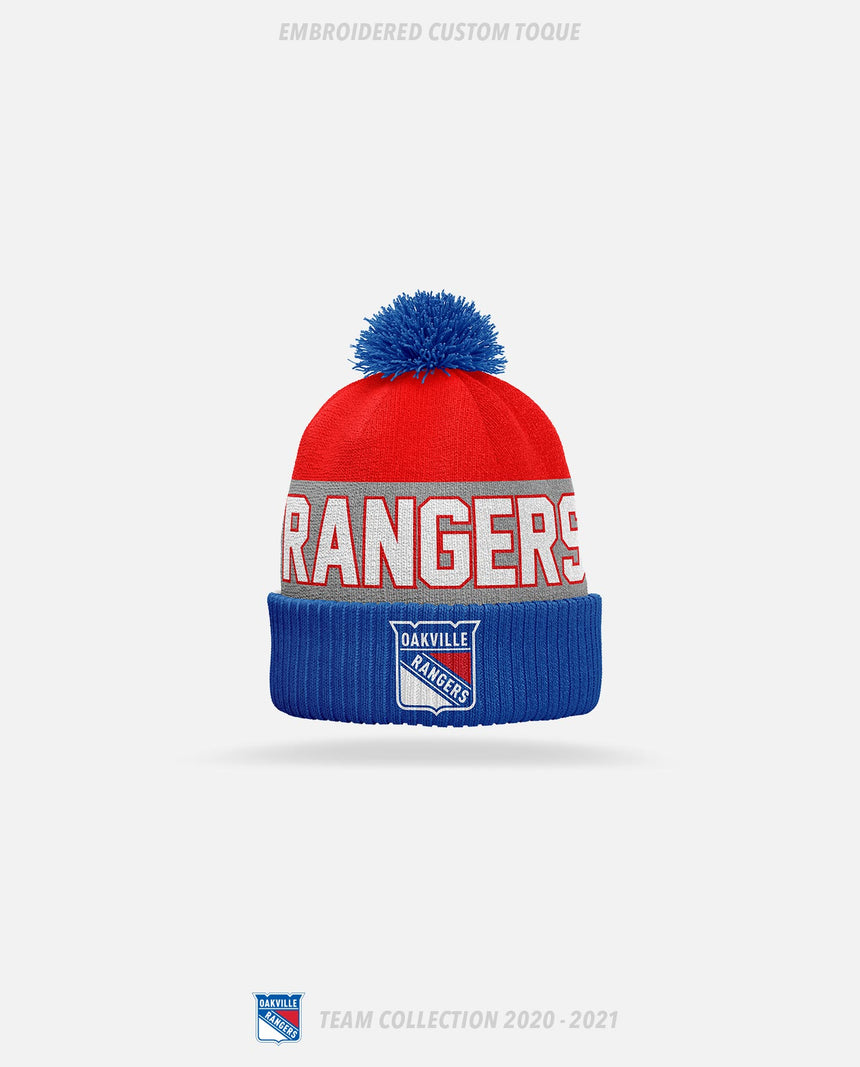 Oakville Rangers Embroidered Custom Toque - Oakville Rangers Team Collection 2020-2021