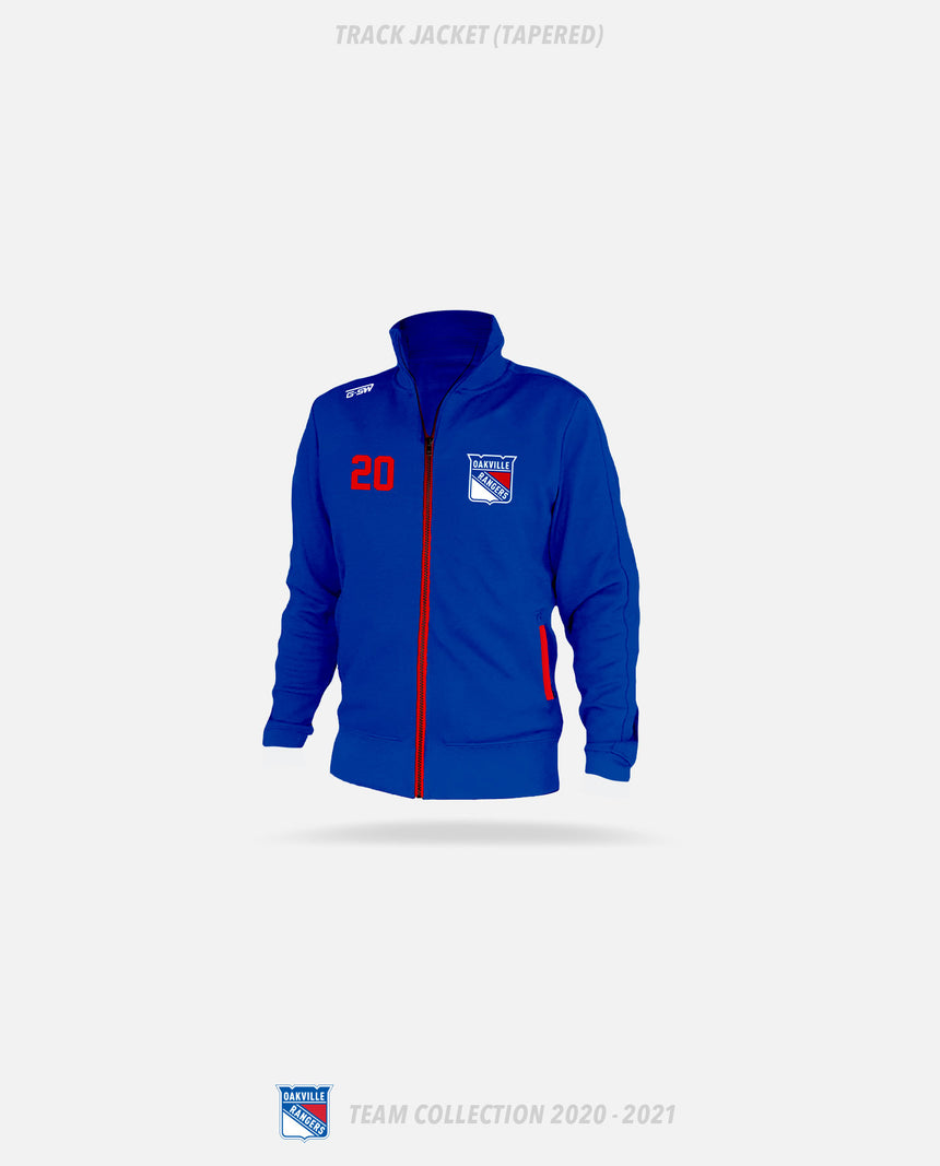 Oakville Rangers Track Jacket (Tapered) - Oakville Rangers Team Collection 2020-2021