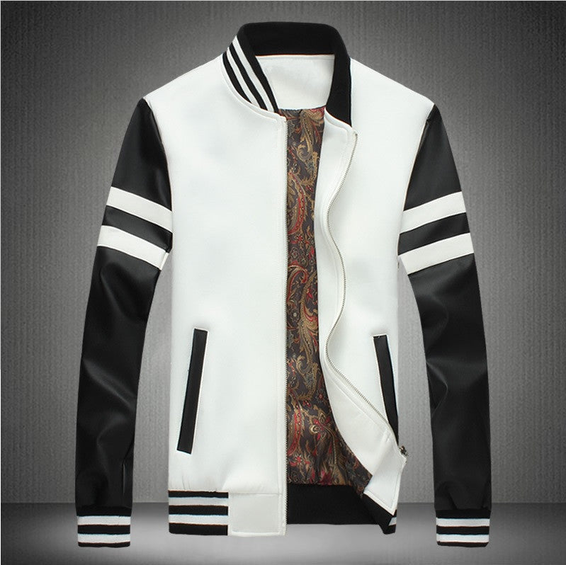 Contemporary Monochrome Casual Light Jacket