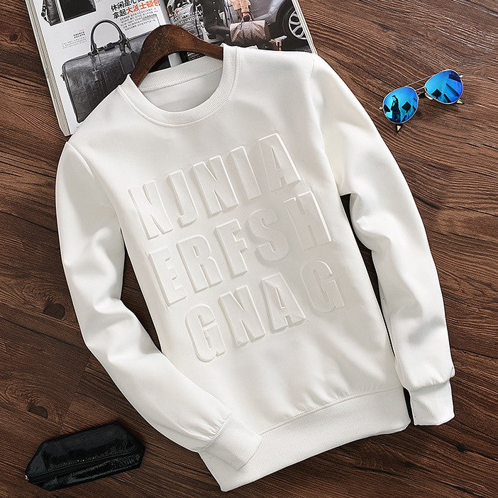 Contemporary Ideograph Casual Sweatshirt