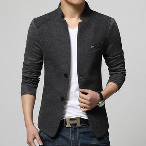 Open image in slideshow, Contemporary Versatile Light Woolen Blazer