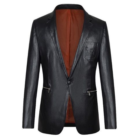 Urban Classic Tapered leather Blazer