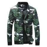 Urban Camo Quilted Fleece Jacket