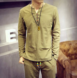 Casual Lounge Stiga Matched Set (Shirt + Pants)