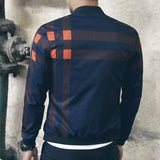 Contemporary Mis-Matched Light Casual Jacket