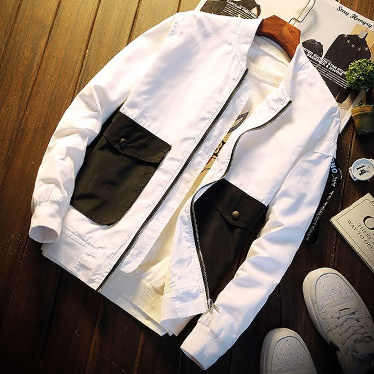 Urban Dual-Pocketed Casual Light Jacket
