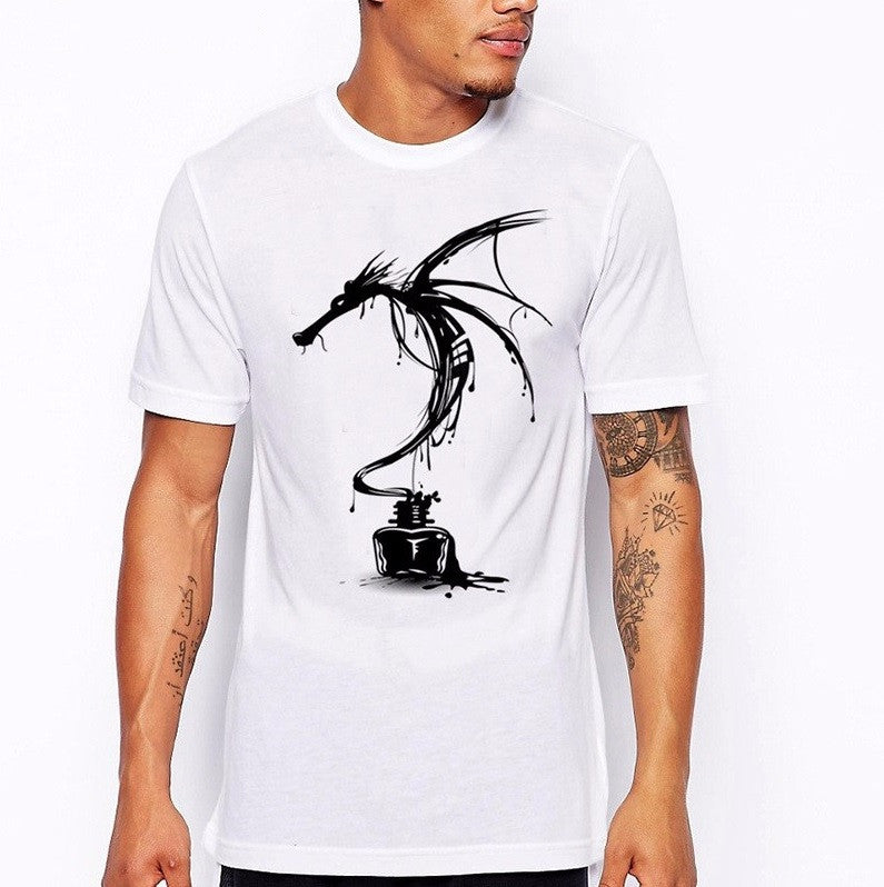 Inked Dragon Summer T-Shirt