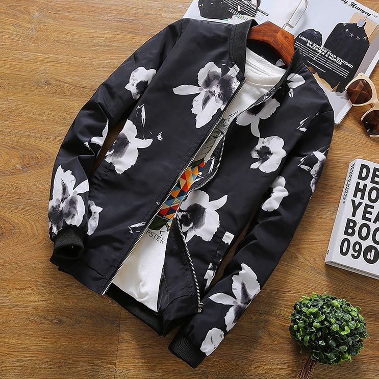 Contemporary Inflorescence Light Casual Jacket