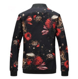 Contemporary Oblivion Floral Casual Jacket