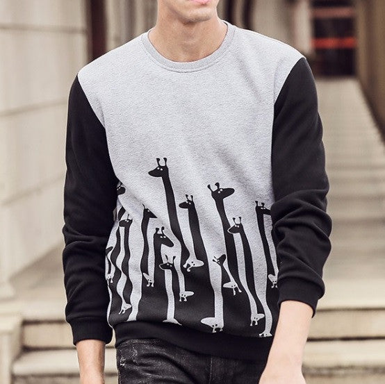 Contemporary Stone-Age Casual Sweatshirt