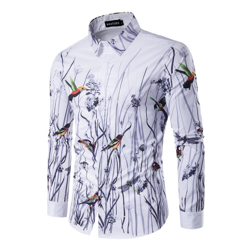 Contemporary Passerine Casual Dress Shirt