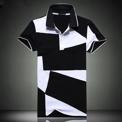 Contemporary Monochrome Polo T-Shirt
