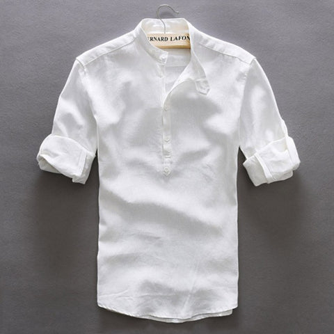Contemporary New-Age Hybrid Linen Shirt