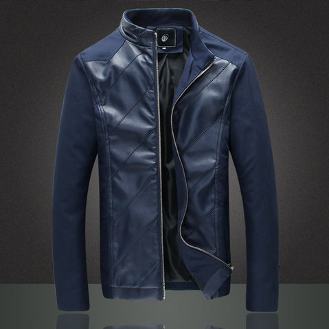 Urban Hybrid Textured Leather Jacket