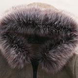 Urban Fur-Hooded Winter Parka Jacket