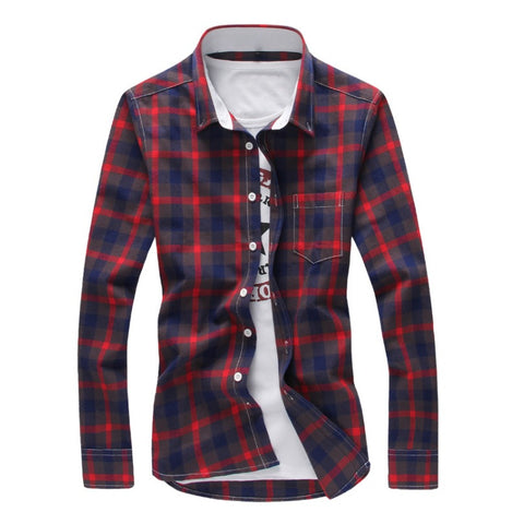 Classic Plaid New-Age Shirt