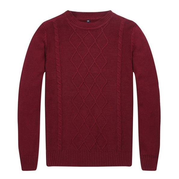 Premium Knitted Casual Fall Sweater