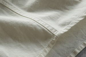 Contemporary New-Age Divergent Linen Shirt