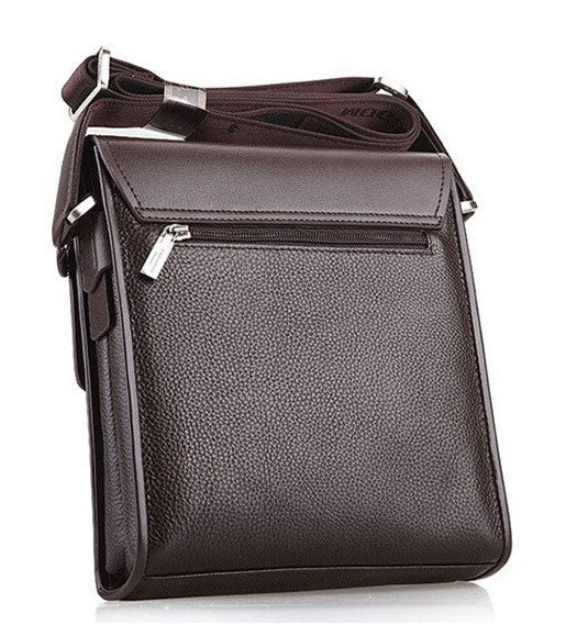 Contemporary UrbanStox Men's Leather Satchel