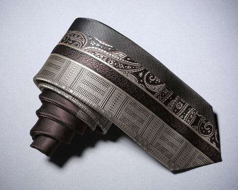 Archaic Patterned Neck Tie