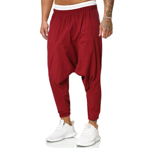 Open image in slideshow, Urban High Street Linen Joggers