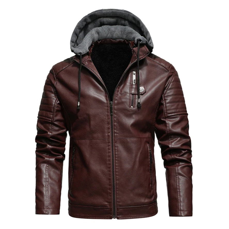 Luxe Hybrid Woollen Hooded Jacket