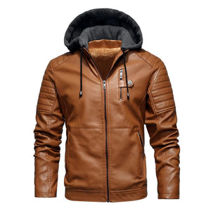 Open image in slideshow, Luxe Hybrid Woollen Hooded Jacket