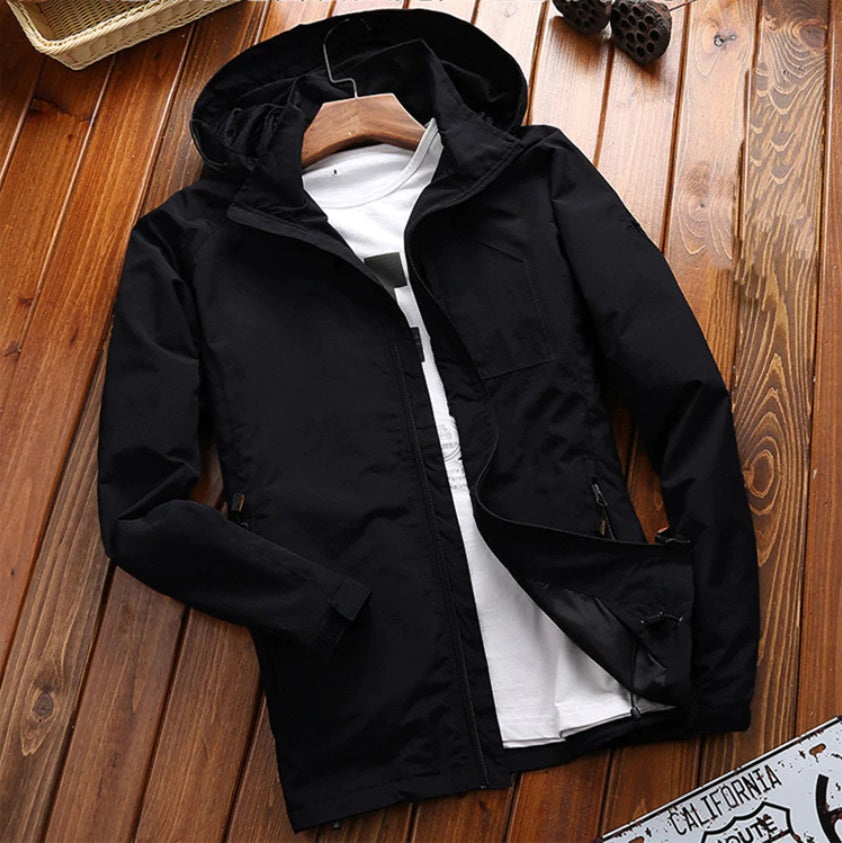 Urban City Hooded Windbreaker