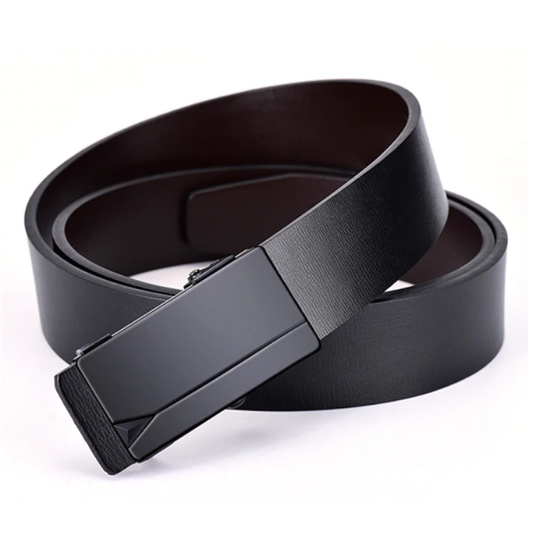 Contemporary Pinnacle Automatique Leather Belt