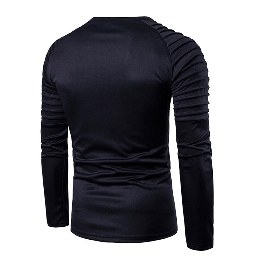 Contemporary Textured Hybrid Fitted Shirt
