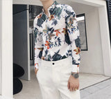 Urban Rex Floral Printed Dress Shirt