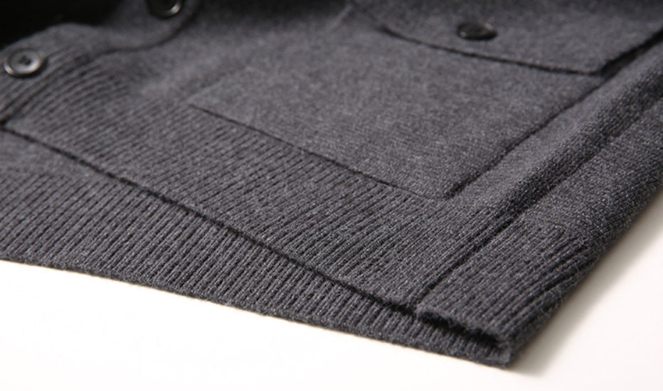 Luxe Urban Knitted Woolen Sweater