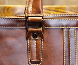 Classic Vintage Statement Briefcase