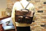 Vintage Bold Pocketed Briefcase
