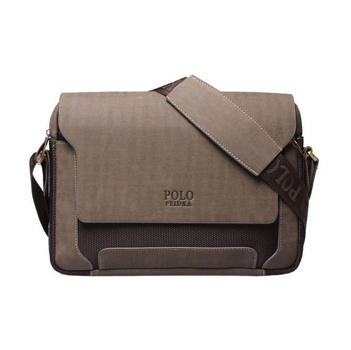 Urban Washed-Out Men's Messenger Bag