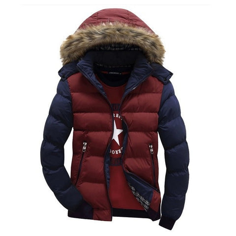 Arctic Faux Fur Hooded Parka Jacket
