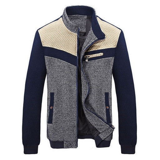 Contemporary Woven Patched Casual Jacket