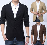 Zen British Standard 3/4-sleeved Urban Casual Blazer