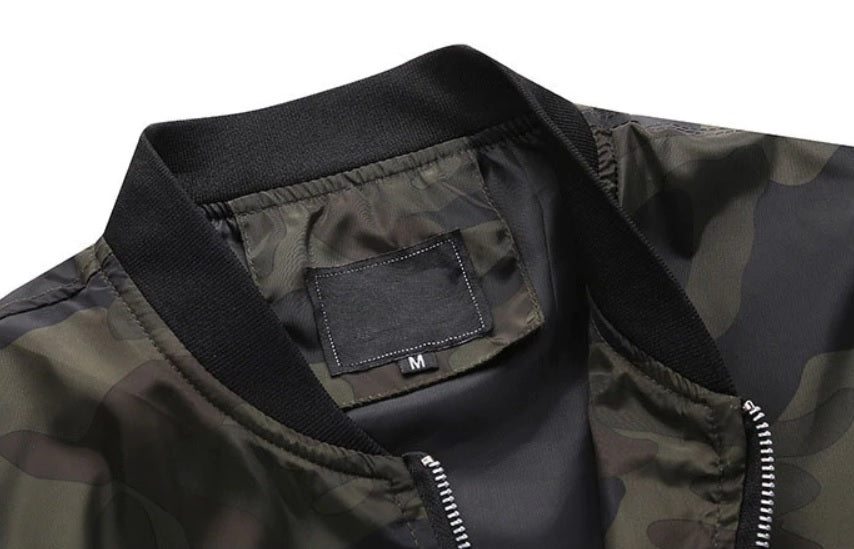 Urban Comfort Camo Light Jacket