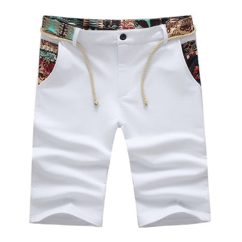 Contemporary Bolivian Splash Casual Shorts