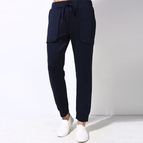 Dual-Pocketed Urban Casual Joggers