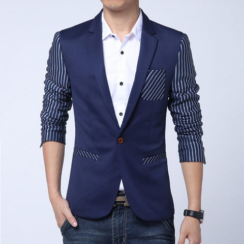 Zen Striped London Casual Blazer