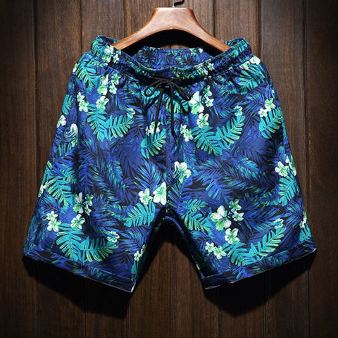 Contemporary Hawaiian Splash Casual Shorts
