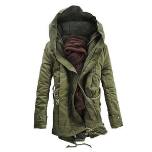 Open image in slideshow, Urban Street Hooded Midnight Jacket