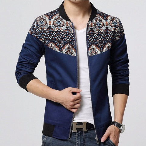 Bolivian Patched Casual Spring Jacket