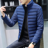 Contemporary New-Age Padded Fleece Jacket
