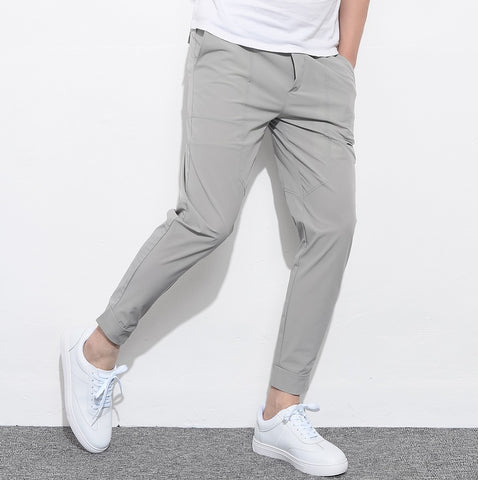 Urban Versatile Slim-Fit Pants